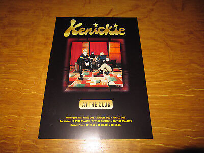 Kenickie - At The Club - Promo Dealer Flyer • 4.99£