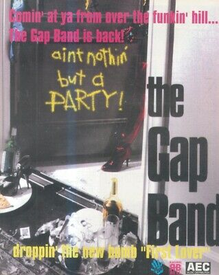 (sfbk71) Poster/advert 13x11  The Gap Band : First Love • 26.99£