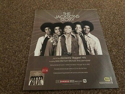 (rsm27) Advert/poster 12x10  The Jacksons Story • 24.99£