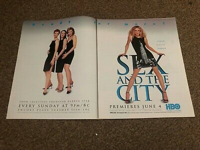 (rsm14) Advert/poster 12x20  Sarah Jessica Parker : Sex In The City • 24.99£