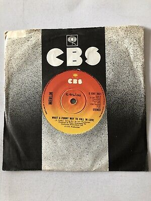 Merlin - What A Funny Way To Fall In Love, 7 , (Vinyl) A CBS 3021 • 1.20£