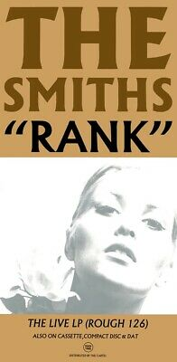 Smiths - Morrissey - Rank - The Live Lp Promotional Poster • 28£