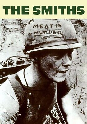 Smiths - Morrissey - Meat Is Murder - Single Promotional Poster • 18£