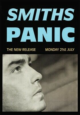 Smiths - Morrissey - Panic - New Single Release Poster  • 18£