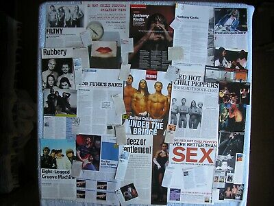 Red Hot Chili Peppers - Magazine Cuttings Collection - Photos, Clippings X19. • 2.94£