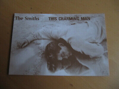 THE SMITHS - THIS CHARMING MAN - VINTAGE 1980's POSTCARD  (A) • 4.99£