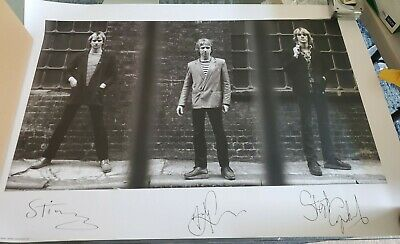 THE POLICE Reunion Concert Tour STING 24x36 POSTER 26 X 3 Tube With End Cap • 2.85£