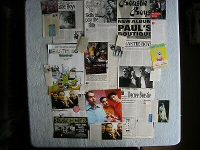 Beastie Boys - Magazine Cuttings Collection - Clippings, Photos, Articles X20. • 2.94£