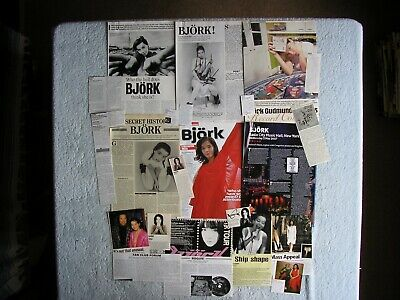 Bjork - Magazine Cuttings Collection - Clippings, Photos, Articles X22. • 2.94£