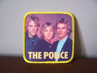 The Police - Fabric Patch - New • 1.99£