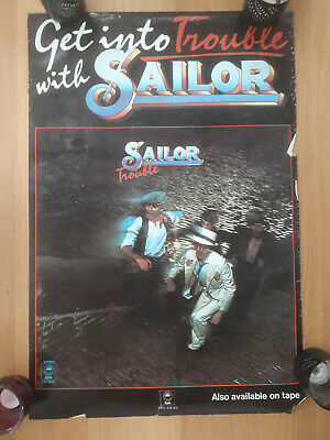 SAILOR Poster From 1975 • 10£