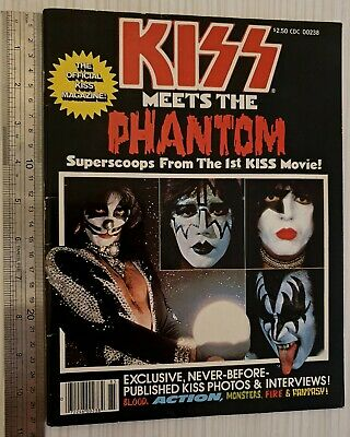 KISS Meets The Phantom Official Magazine • 23£