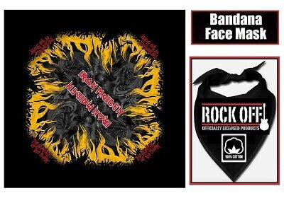OFFICIAL Iron Maiden NUMBER OF THE BEAST Bandana Face Mask 100% Cotton NEW  • 9.99£
