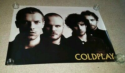 90cm X 64cm Coldplay Retro Rare Band Poster • 19.99£
