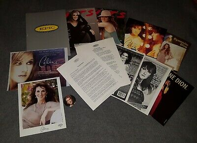Celine Dion   A New Day Has Come   Press Kit W/ 2 Color Photo W Bio & Tear Out++ • 79.93£