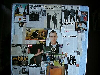 Blur - Magazine Cuttings Collection - Clippings, Photos, Articles X34. • 2.94£