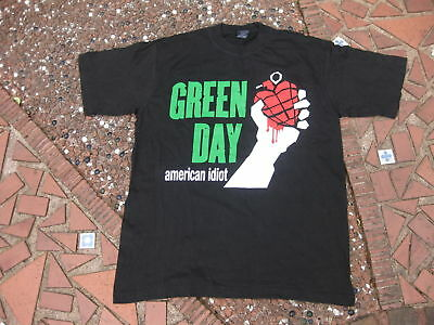 Green Day - American Idiot ~ Vintage T-Shirt ~ Size XL ~ Rock @T.G.  • 11.99£