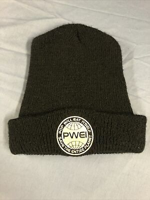 PWEI / Pop Will Eat Itself 'Entire Planet' Beanie Hat - Rare And Original • 10£