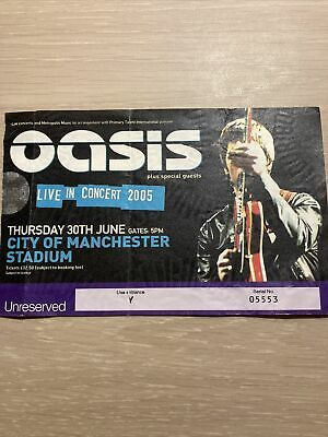 Oasis Ticket 'Don't Believe The Truth' Tour Manchester City Stadium 3 July 2005 • 15.80£