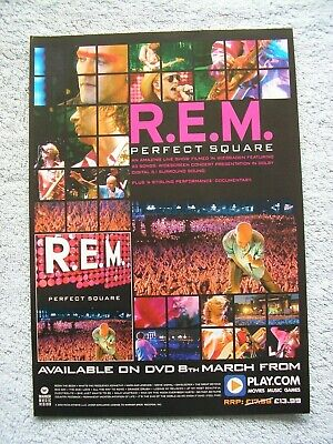 R.E.M. - PERFECT SQUARE - ADVERT - 20 X 28.5cm.  • 1.84£