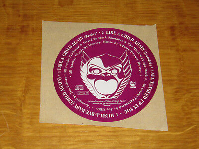 The Mission - Like A Child Again - Promo Sticker • 4.99£
