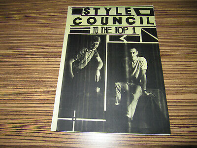 The Style Council - To The Top 1 Fanzine Magazine • 9.99£