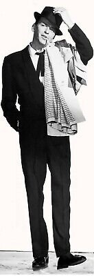 Life Size Frank Sinatra The Man Rat Pack Singer Actor  On Qualty Canvas Poster  • 12.95£