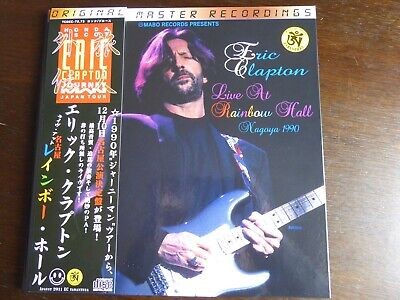 ERIC CLAPTON Japan 1990 Tour 4CD 12  Hard Backed Gatefold Ltd Ed W/Obi NEW RARE • 80£