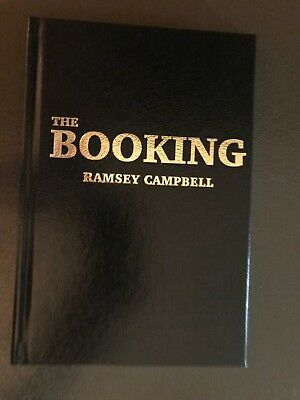 The Booking. Ramsey Campbell. Signed Lettered Edition. • 56.29£