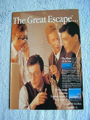 BLUR - THE GREAT ESCAPE - ADVERT - 20.5 X 29.5cm.  • 2.54£