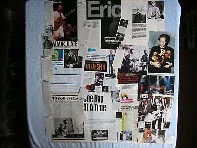 Eric Clapton - Magazine Cuttings Collection - Photos, Clippings, Articles X28. • 2.94£