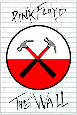 Pink Floyd The Wall - Huge A0 Promotional Poster • 45£