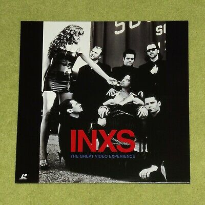 INXS The Great Video Experience - RARE 1995 JAPAN LASERDISC (Cat No. POLS-1001) • 40£