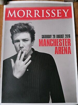 Morrissey Poster 2016 Manchester Arena • 50£