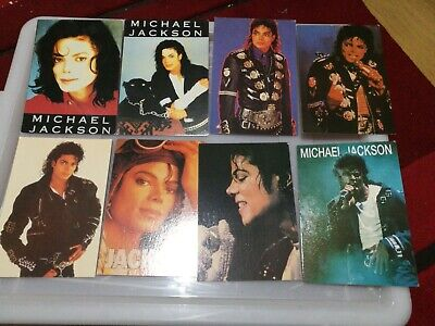 Collection Of 15 Michael Jackson Postcards • 3.10£