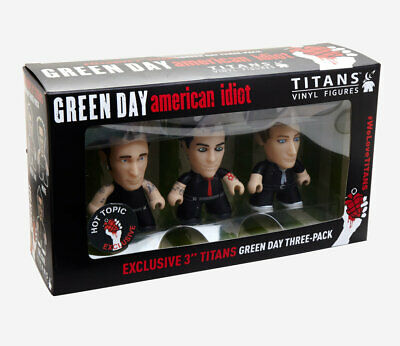 Green Day American Idiot Vinyl Figure Set Titans *SOLD OUT* Toy Hot Topic Punk • 14.30£