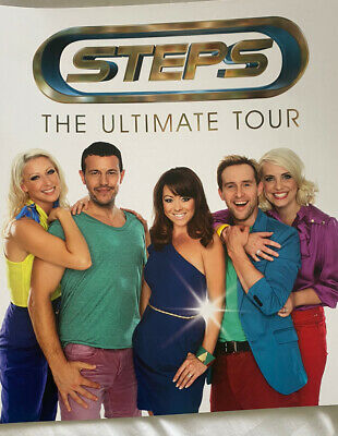 Steps... The Ultimate Tour ... Brand New • 15£
