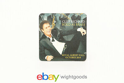 RARE Cliff Richard - Bold As Brass Promotional Drinks Coaster • 8.99£