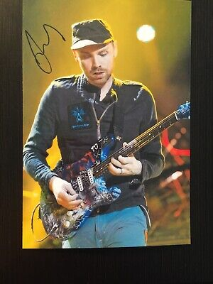 Cold Play - Jonny Buckland Signed Printed Photo 6x4 • 2.08£