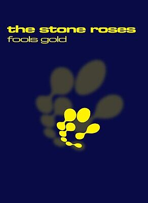 Stone Roses - Fools Gold - Album Promotional Poster • 26£