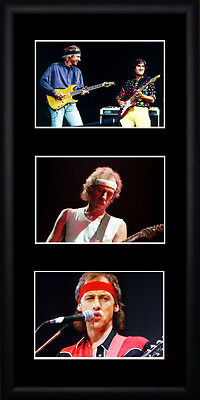 Dire Straits - Framed Triple Postcard Set PB0678 • 14£