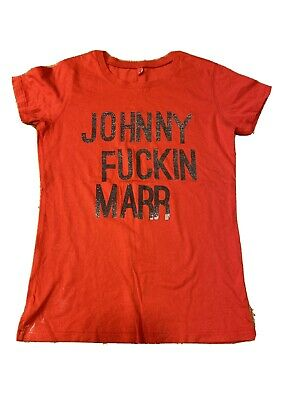 The Smiths Johnny Marr T Shirt - Ladies Small • 10£