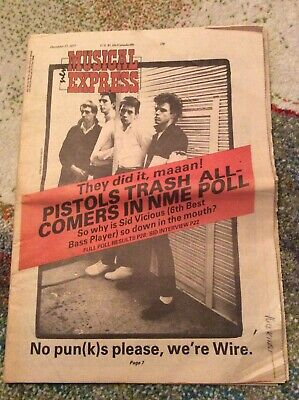 NME 17th December 1977.   Sex Pistols.  Great Condition. • 30£