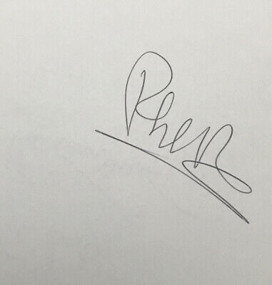 Musician Phil Collins Signed Card • 19.70£