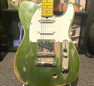Francis Rossi Telecaster Guitar Status Quo Modified Relic 3 Pickup Tele NEW • 350£