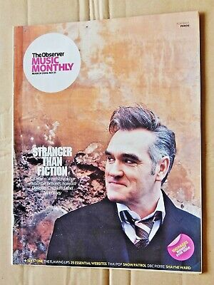 MORRISSEY: The Observer Music Monthly March 2006 No 31 Douglas Coupland • 8£