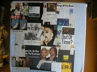 Rem - Large Magazine Cuttings Collection - Articles, Photos, Clippings X64. • 2.94£