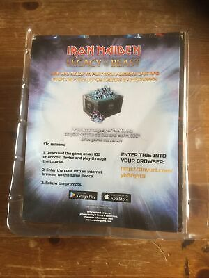 Iron Maiden 'Number Of The Beast' Patch/Figure Sealed • 3.99£