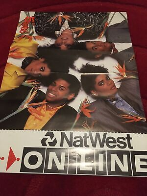 Limited Edition Five Star Crunchie Tour Natwest Poster • 1.99£