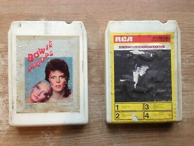 David Bowie 8 Track Cartridge Pin Ups And Station To Station • 20£